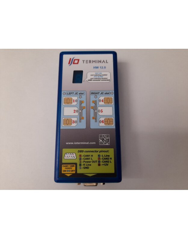 I/O TERMINAL NEW TOOL WITH 6 CARD MULTIPLEXER HWv12