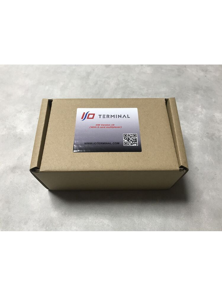 I/O TERMINAL NEW TOOL WITH 6 CARD MULTIPLEXER HWv10 NEW